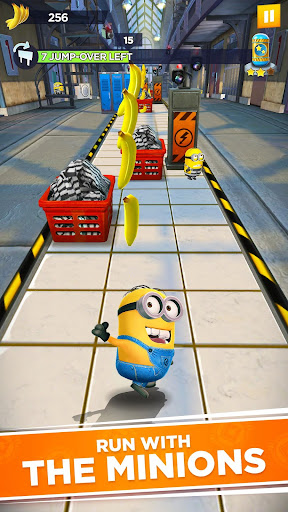 Minion Rush: Despicable Me Official Game apkpoly screenshots 1