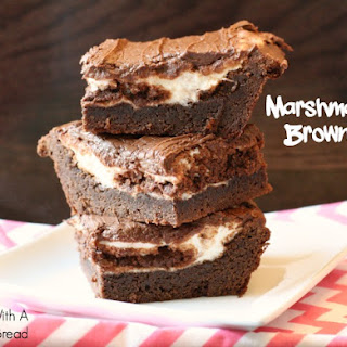 MARSHMALLOW BROWNIES.