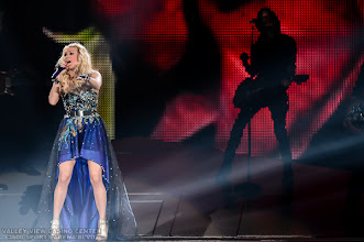 "Photo: Carrie Underwood  performs on October 20, 2012 during her  ""Blown Away"" tour at Valley View Casino Center in San Diego,  California"