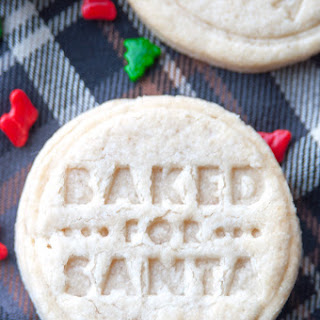 Low Sugar Cookies.