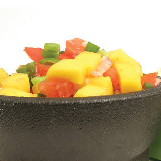 Red Pepper and Mango Salsa.