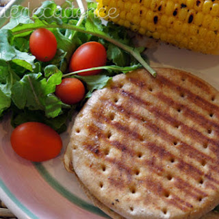 Fancy schmancy – Grilled manchego and snow pea sandwich.