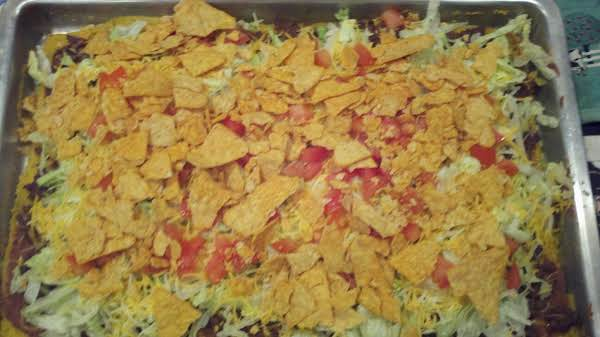 Polenta Taco Pizza Recipe