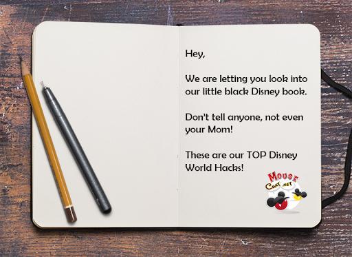 Get our TOP Disney Hacks