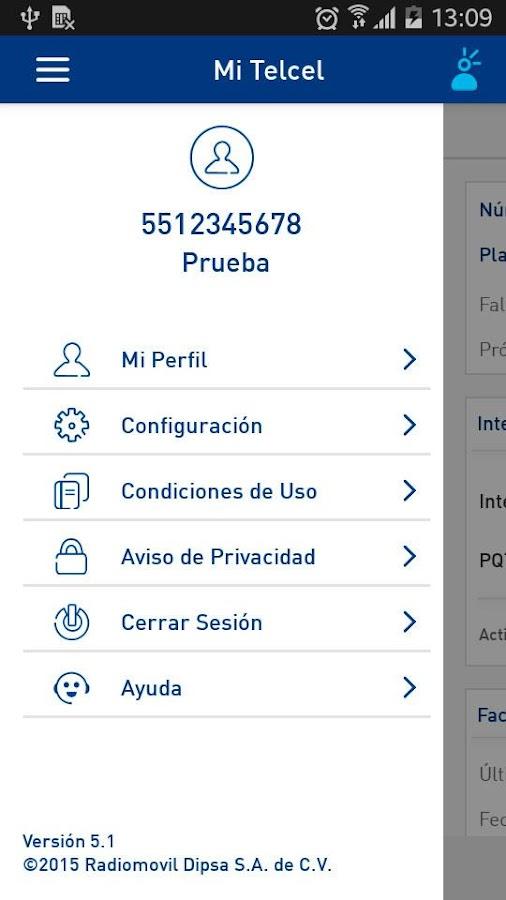 Mi Telcel- screenshot