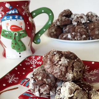 Chocolate Crinkle Cookie.