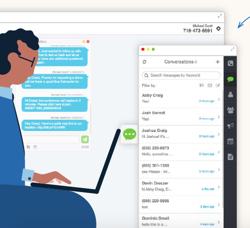The best part: TextUs claims it can increase response rates by up to 800%. Source: LinkedIn