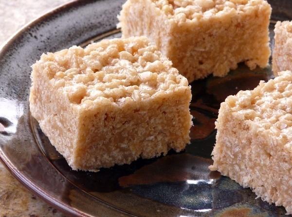 Banana Cream Salted Caramel Squares Recipe