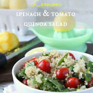 Warm Spinach Salad Vegetarian Recipes.