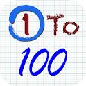 1 To 100 icon