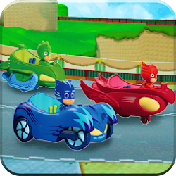 Pj Speed Car: Masks Racer