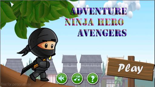 adventure ninja hero avengers