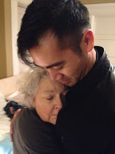 Photo: Leslie and David. This is the photo that captures how she felt in those last months. Loved.