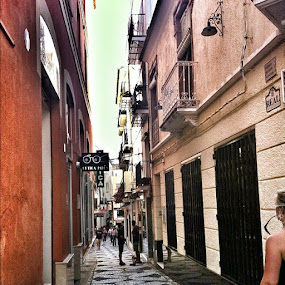 Wandering the streets of #almuñecar by Abi Gilson - Instagram & Mobile Instagram