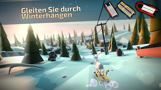 Animal Adventure: Downhill Rush Screenshot