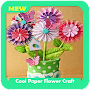 Cool Paper Flower Craft APK icon