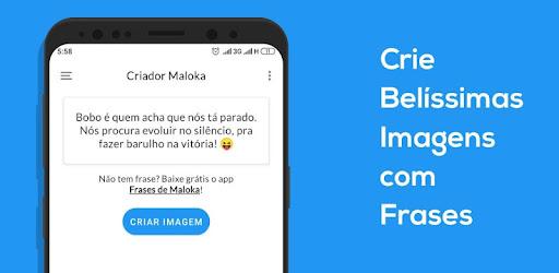 Criador Maloka Escrever Em Fotos Apps On Google Play