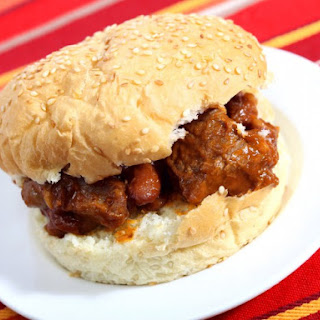Beef 'n' Bean Sloppy Joes