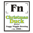 Foggy Noggin Christmas Duck
