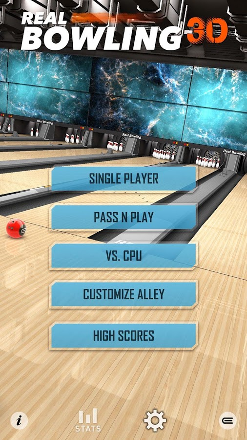 Real Bowling 3D Free- screenshot
