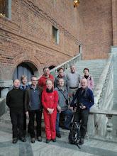 Photo: Groep, rondgeleid in het stadhuis
