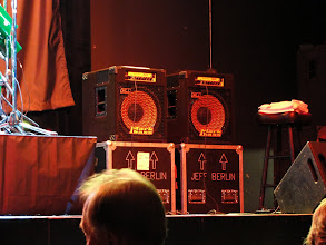 Photo: Jeff Berlin's amps