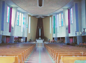 Photo: Even the interior of St. Francis is still striking,  almost 60 years later.