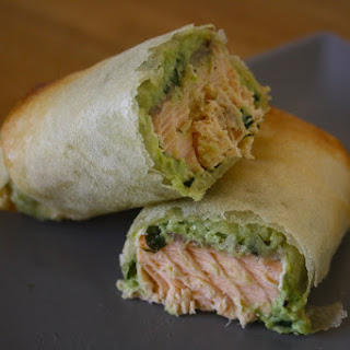 Salmon and Avocado Parcels.
