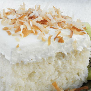 Coconut Tres Leches Cake.