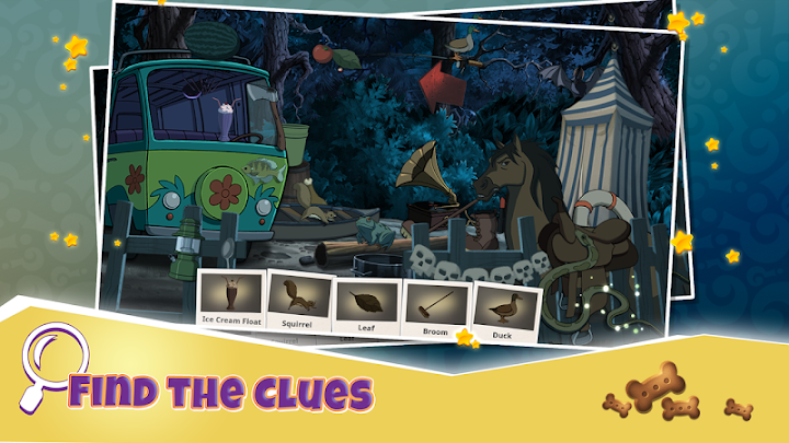 Scooby-Doo Mystery Cases Android App Screenshot