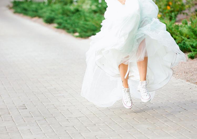 bridal shoe casual