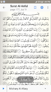 The Holy Quran with Tafsir - náhled