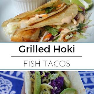 Grilled Hoki Fish Tacos