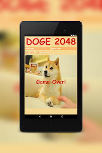 Doge 2048- screenshot thumbnail