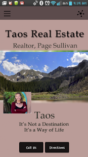 Taos Real Estate Page Sullivan- screenshot thumbnail