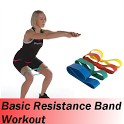 Basic Resistance Band Workout icon