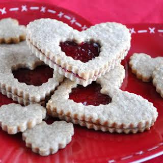 Valentine Linzer Hearts.