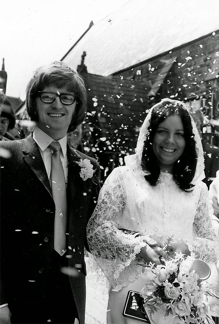 Photo: Alan & Marie Leightell July 11th 1970