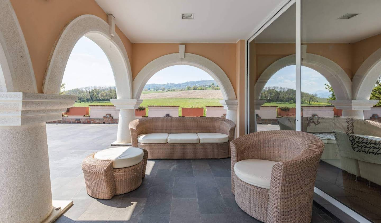 Villa avec jardin et terrasse Gazzola