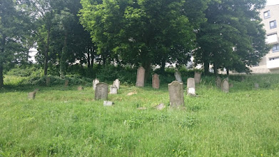 Photo: an old jewish cemetery behind our house
