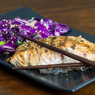 Beeriyaki Sesame Grilled Salmon