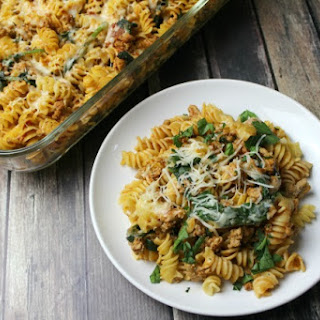 Spinach Ground Turkey Pasta Recipes