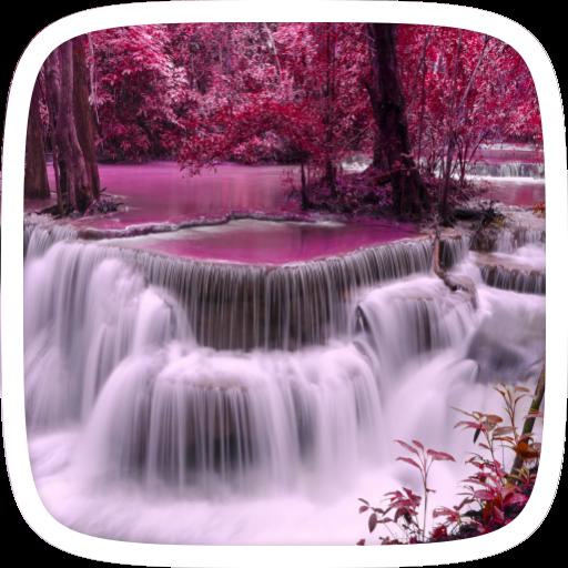 夢幻瀑布直播主題 個人化 App LOGO-APP開箱王