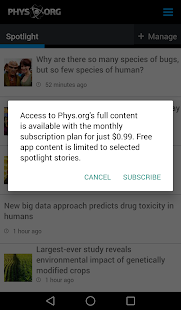 Phys.org News- screenshot thumbnail