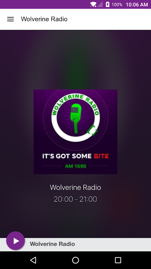 Wolverine Radio- screenshot
