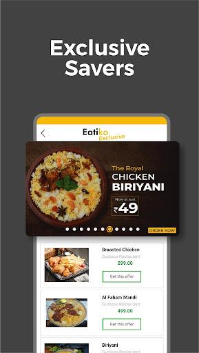 Eatiko - Screenshots von Food Delivery & Restaurant Finder 5