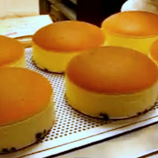 Japanese Cheesecake.