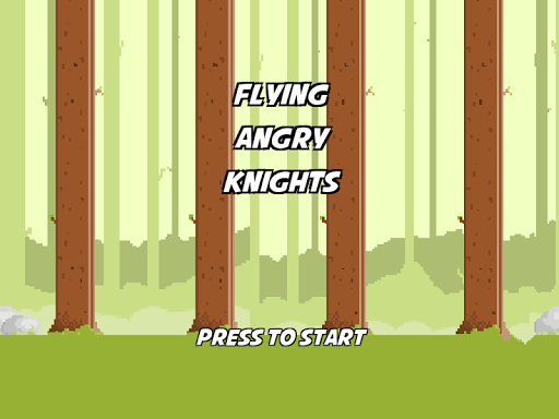 Flying Angry Knights