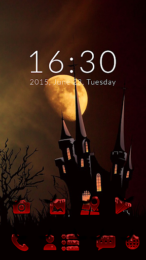 GO Launcher Halloween Theme