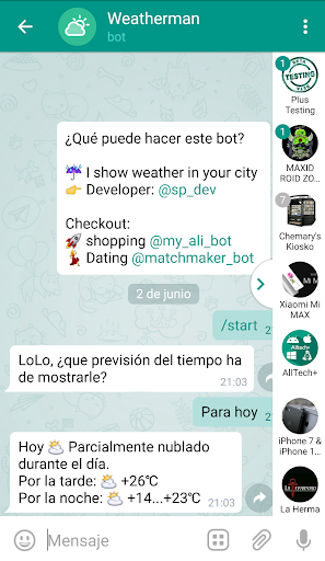 Plus Messenger screenshots 7